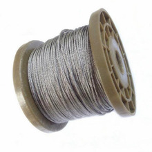 4mm 304 soft stainless steel wire rope clothesline lifting 7*19 Rope 20meter
