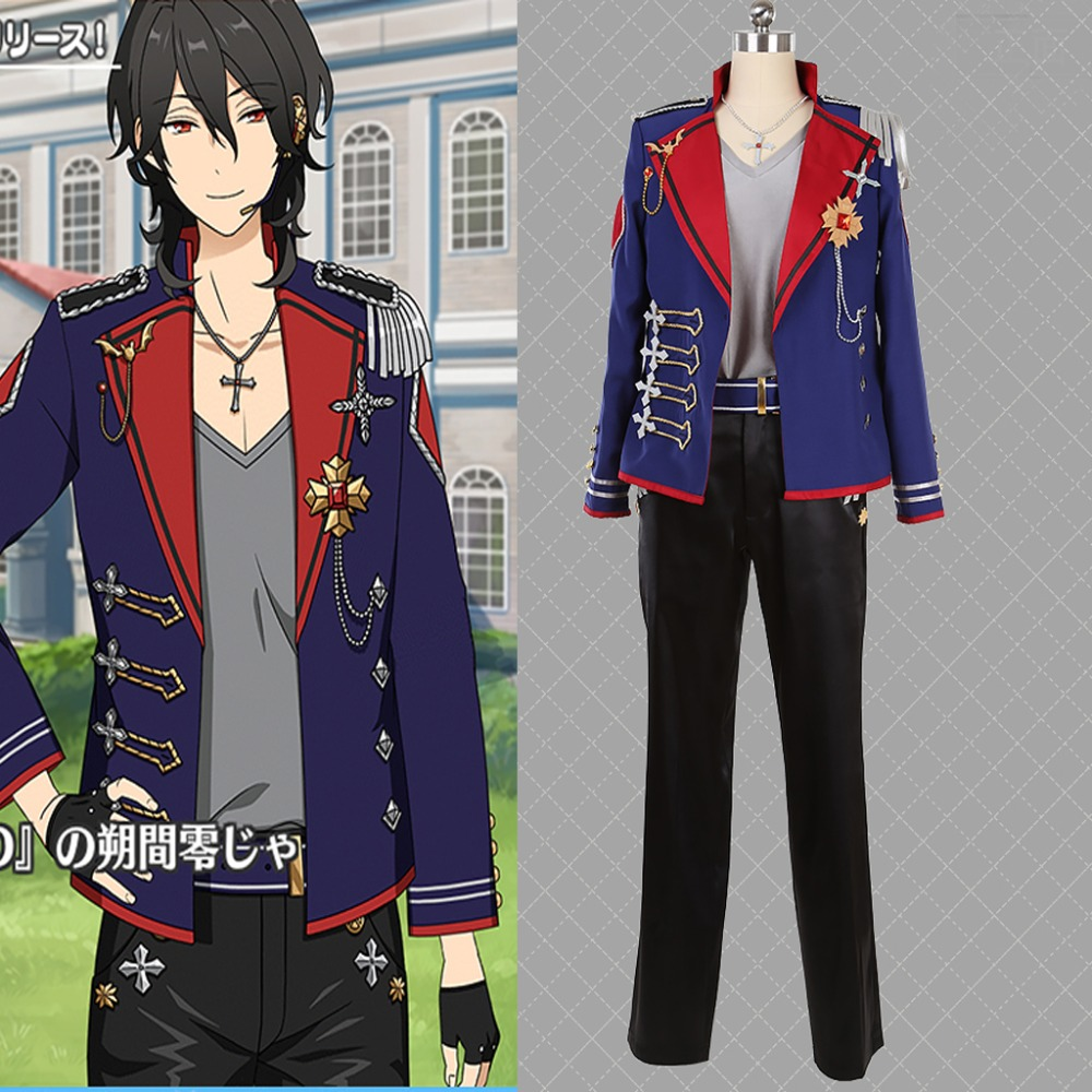 Cosplaydiy Custom Made Ensemble Stars UNDEAD Album Series Present Cosplay Costume ES Sakuma Rei Stage Costume Any Size L320