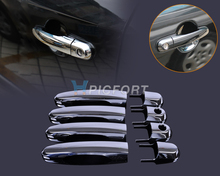 DWCX 8 Pz Chrome Door Handle Copertura Trim Modanature Esterne Decoratives misura per Hyundai Tucson 2004 2005 2006 2007 2008 2009 2010
