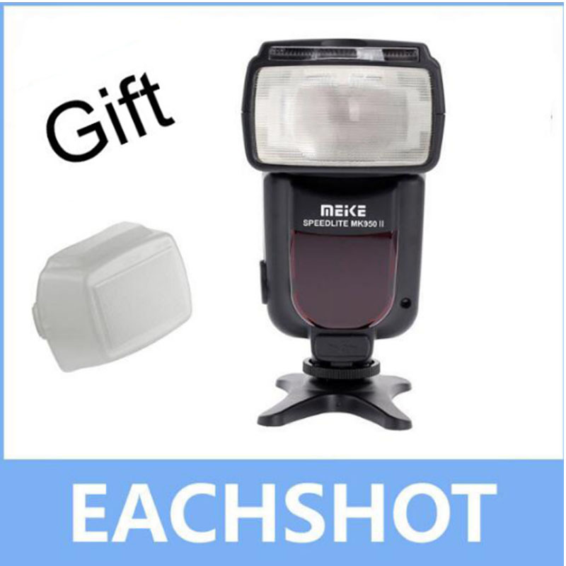 Galleria fotografica Meike MK-950 II E-TTL Flash Speedlite pour Canon EOS 5D II 6D 7D 50D 60D 70D 550D 600D 650D 700D 580EX 430EX comme Yongnuo YN-565Ex