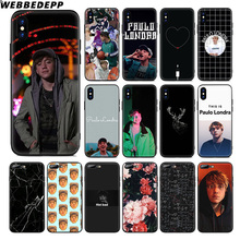 WEBBEDEPP Paulo Londra Soft Silicone Case for Apple