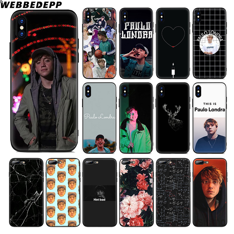 WEBBEDEPP Paulo Londra Soft Silicone Case for Apple iPhone 11 Pro Xr Xs Max X or 10 8 7 6 6S Plus 5 5S SE TPU image