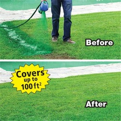 Liquid Lawn System Hydro Foam Professional Household Hydro Seeding Spray Device For Seed Care Garden Tools Home Garden Mousse