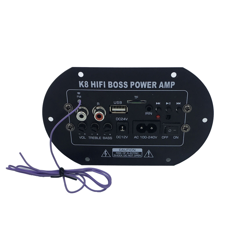 I Key Buy Car Subwoofer Amplifier Board 220V 12V 24V Sound Core With Bluetooth Speaker