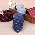 Новый Модные Аксессуары Галстук Высокого Качества 6 см мужские галстуки для костюм бизнес свадебные Повседневная Полосатый Галстук Красный
