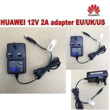 Лот из 10 шт HUAWEI ac/dc зарядное устройство 12 V 2A UK/EU/US