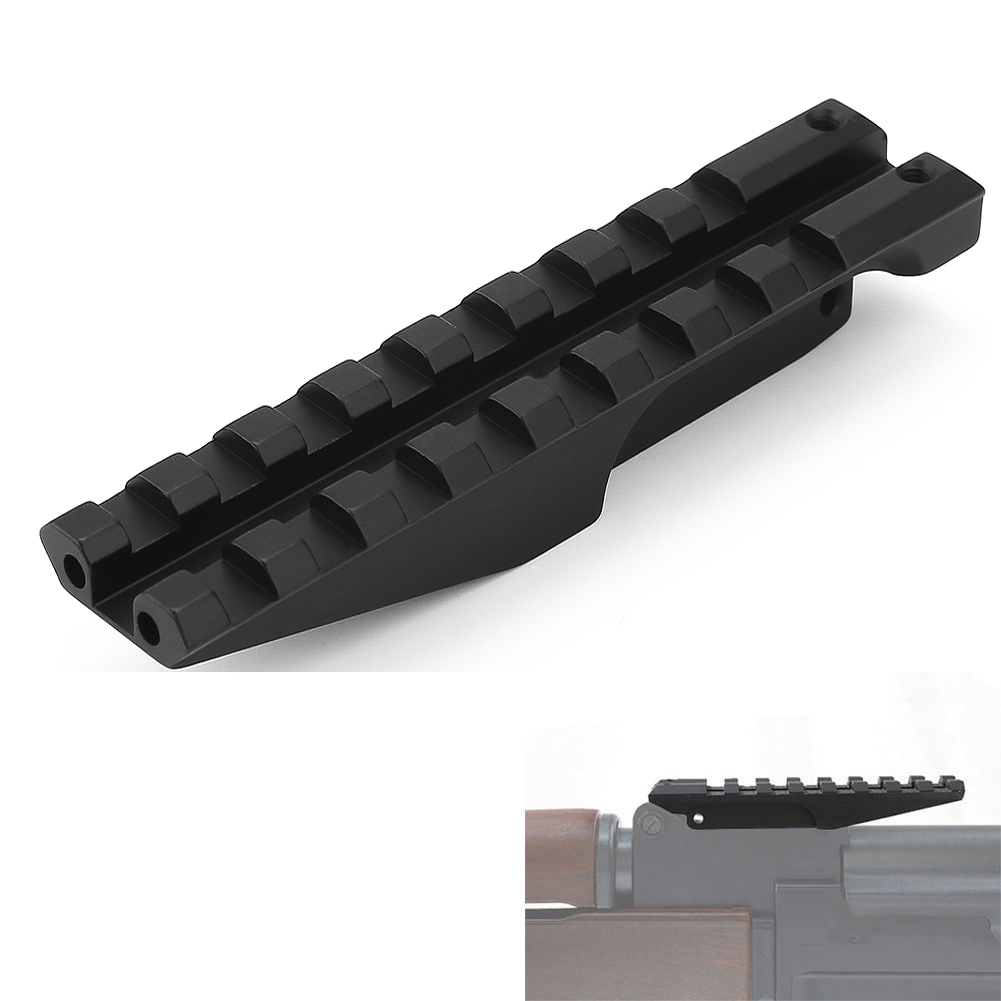 Hunting Magorui Tactical Low Profile Picatinny Scope Mount Rail For Rifle Rear Sight Ak Series Gun Ak 47 Sight Rail Hunting Scope Mount Agreeable To Taste Hunting Gun Accessories