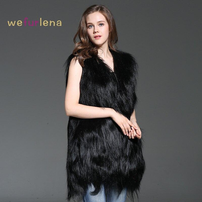 Manteau Femmes Feminino 75 Naturelle Gilet Taille Noir Vraie Moutons De Fourrure Mongolie Mode La Plus Colete Solide Cm Welfurlena 2018 qdpwBqO