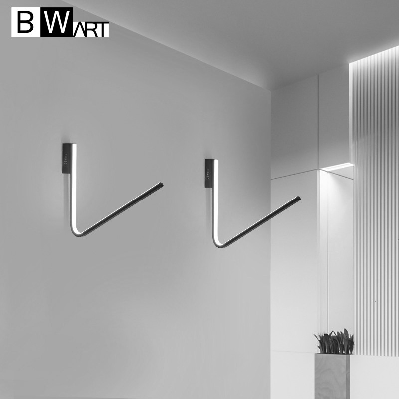 BWART Modern LED wall lamp for Kitchen Restaurant Living Bedroom bathroom Corridor aisle light indoor Bedside bed lamp lighting