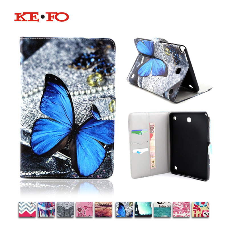 Print Design Case for Galaxy Tab A 8.0 Leather Cover For Samsung Galaxy Tab A 8.0 SM-T350 T351 T355 SM-T355 Tablet Accessories hh xw dazzle impact hybrid armor kickstand hard tpu pc back case for samsung galaxy tab a 8 0 inch p350 p355c t350 t355 sm t355
