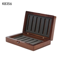 Fishing Tackle Box Hook Compartments Storage Case Outdoor Fishing Swivels Lure Bait Woody Double Layer Fishing