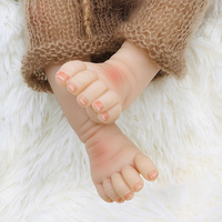55 см полное Силиконовое боди Reborn Baby Doll игрушка для девочки винил новорожденная принцесса Младенцы Bebe Bathe игрушка компаньон подарок на день р
