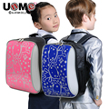 UNME student backpack children orthopaedic spinal schoolbag boy large capacity recreation bag girl fashion backpack primary 1 3