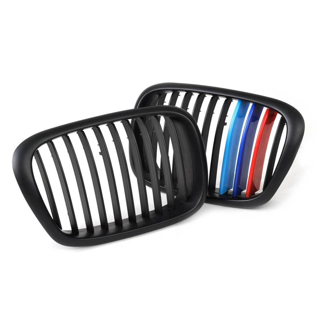 Matte Black Kidney Car Front Auto Car Racing Grille for BMW E39 5 Series 1995-2004 For Cars