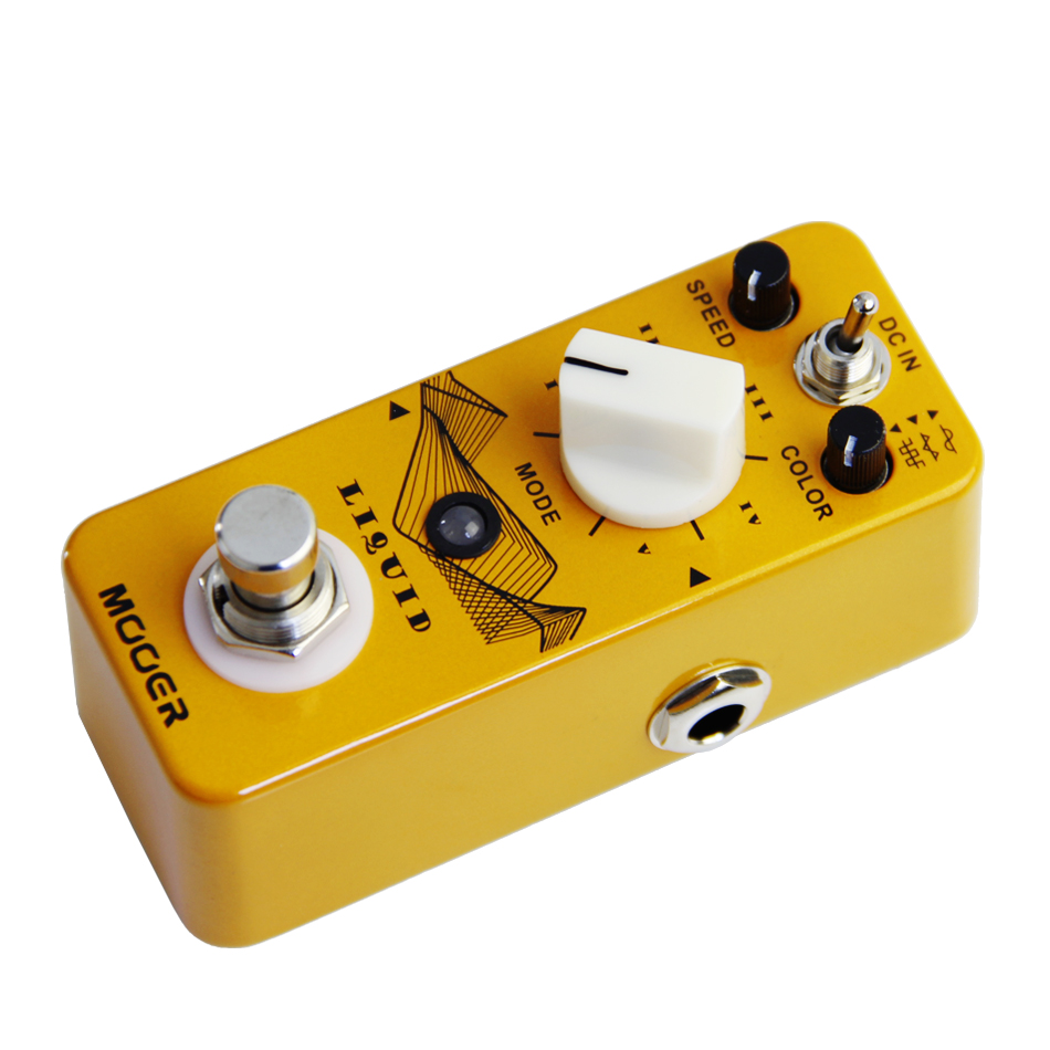 Mooer Liquid Guitar Effects Pedal with 5 Different Phase Effect Pedal and 3 Selectable Wave Guitar AccessoriesMooer Liquid Guitar Effects Pedal with 5 Different Phase Effect Pedal and 3 Selectable Wave Guitar Accessories