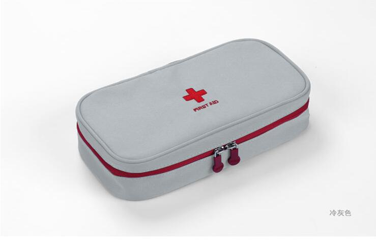 WJB1 First aid aluminum alloy outpatient box medical home emergency kit medical