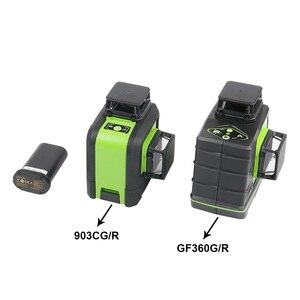 Image 5 - Huepar Nieuwe Originele 3.7V 5200Mah Oplaadbare Lithium Batterij Voor 903CG/GF360G/903CR/GF360R