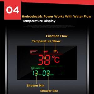 Image 4 - Geborsteld Nikkel Roestvrij Staal 6 Functies Waterval Regendouche Panel W/Massage Systeem Bad Uitloop En Handdouche Douche kolom