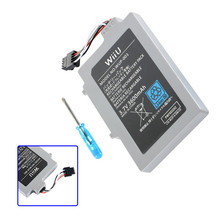 лучшая цена 3.7V 3600mAh Battery Pack for Nintendo Wii U Gamepad Electric  Rechargeable Li-ion Replacement  Power Tool