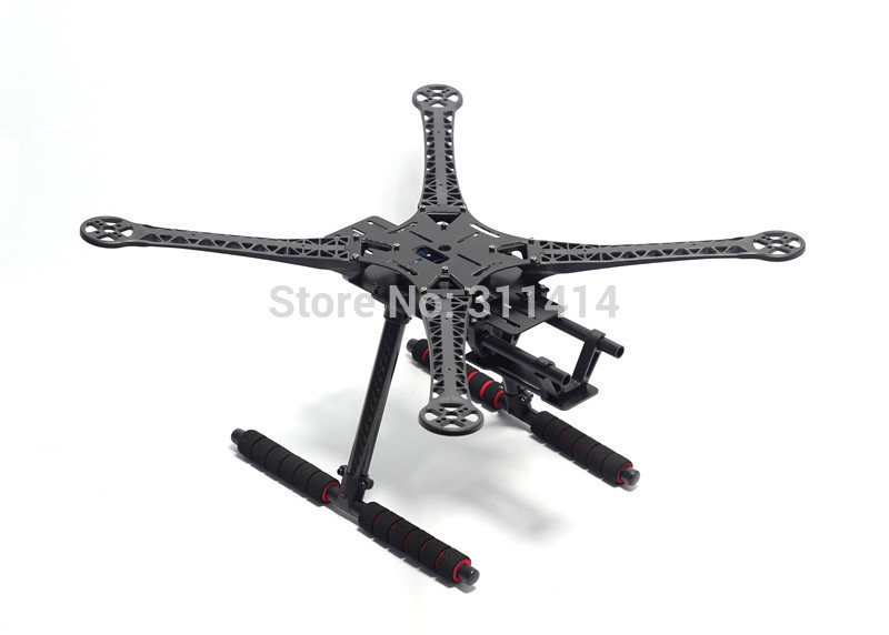 1set S500 500mm Quadcopter Multicopter Frame Kit GF Version W Carbon Fiber Landing Gear For FPV