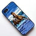 Caballo corriendo en la playa se funda para apple iphone 4s 5 5s 5c 6 6 s 6 más 6 s plus