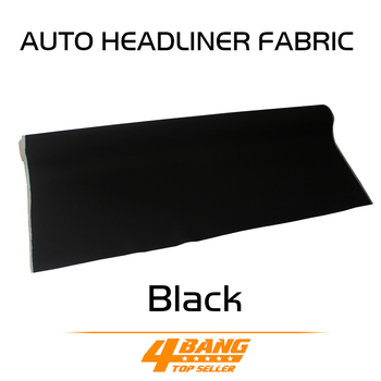 "393""x55"" 1000cmx140cm UPHOLSTERY auto pro headliner fabric ceiling foam backing roof lining car styling Sound Insulation"
