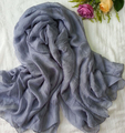 large hijab scarf shawl solid color georgette chiffon khaleeji fashion 150*130cm large shawl 10 colors 10pc/lot