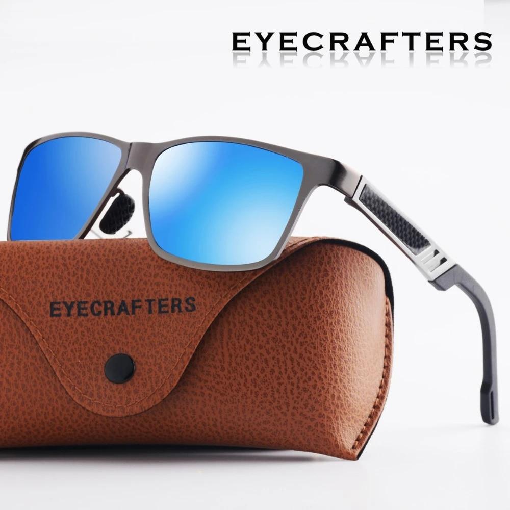 Men Polarized Photochromic Sunglasses Mirrored Driving Sun Glasses Retro Eyewe