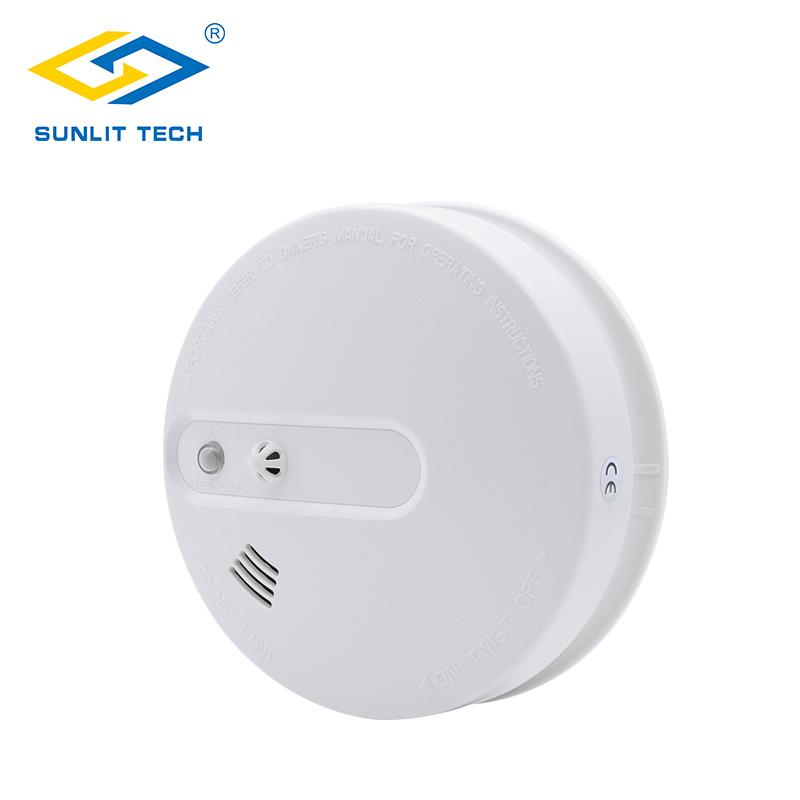 цена на Portable Fire Smoke Sensors Wifi Wireless Heat 2 in 1 Smoke Temperature Detector Sensor Alarm For 433MHz Home Security System