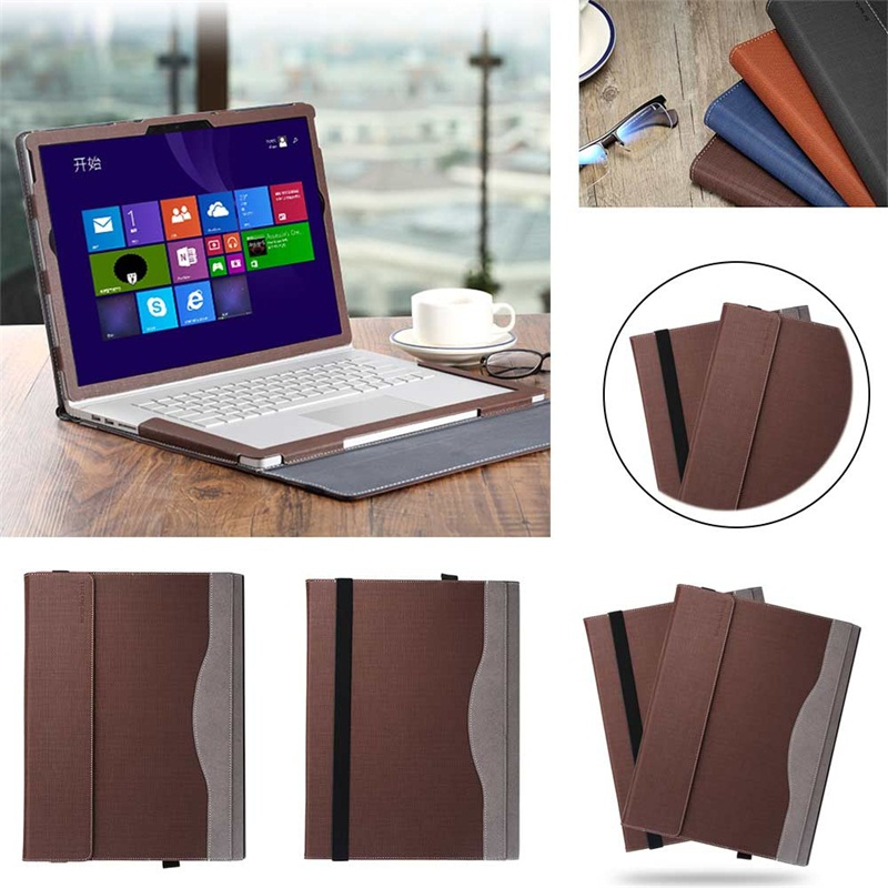 """Eagwell Tablet Case For Microsoft Surface Book2 15"""" 2017 PU Leather Detachable Protec Cover For Microsoft Surface Book2 15"""" 2017"""