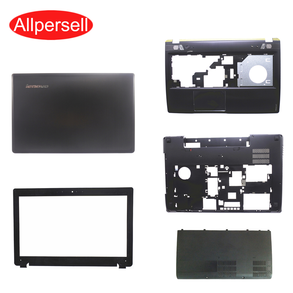 Laptop Case For Lenovo Y580 Y585 Y580N Top Cover/palmrest Case/bottom Shell/Hard Drive Cover/ Screen Frame Brand New