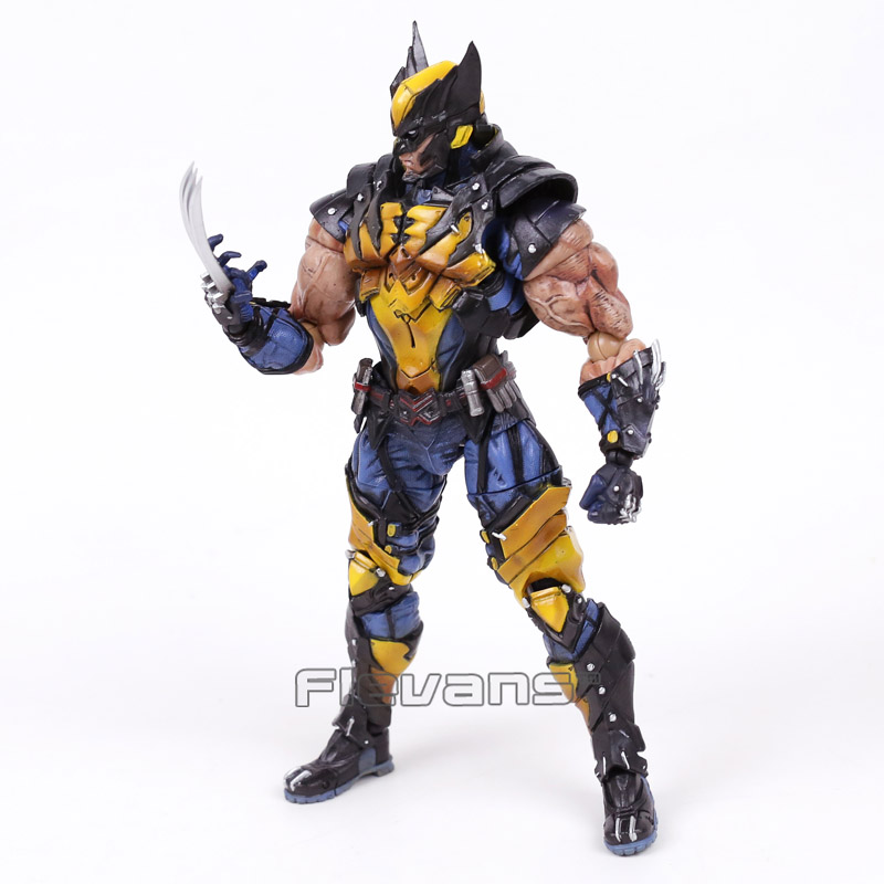Play Arts Kai Marvel X-MEN Wolverine Logan PVC Action Figure 17
