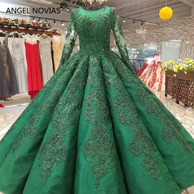 Green Wedding Dress Turkey