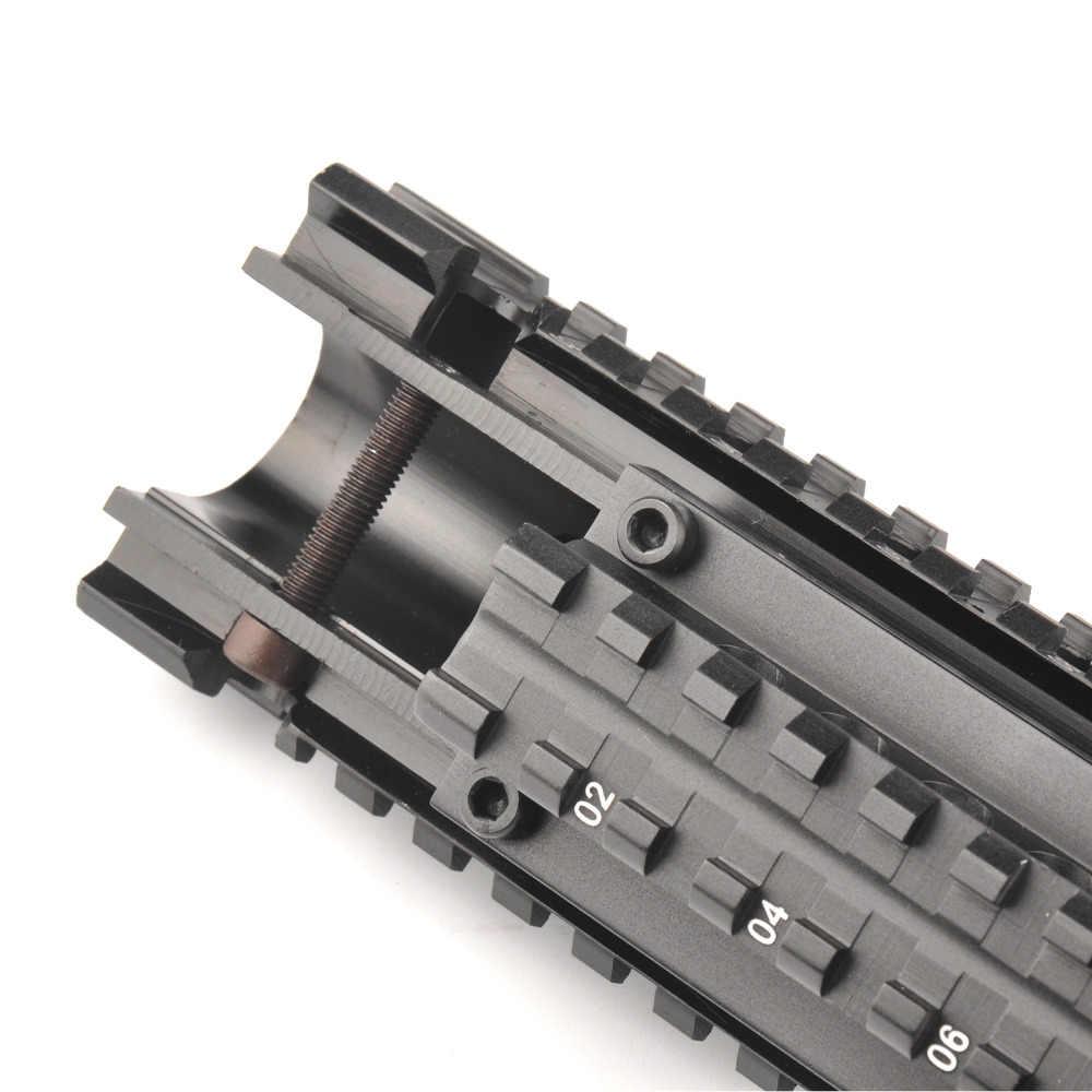 Tactische 29.5cm FN FAL Quad Rail Montage Systeem Picatinny Rail Handguard Aluminium L1A1 voor Jacht