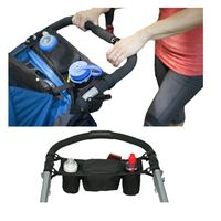 Baby Stroller Bag Water Cups Bottle Holder For Carriage Pram Baby Cooler Thermal Bags For Mum