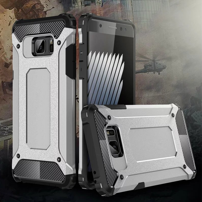 For Samsung Note 7 Case Military Grade Drop Protection Hybird Armor Back Cases for Samsung Galaxy Note 7 2016