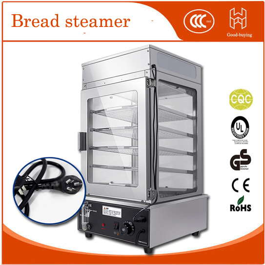 Glass Electric Steamer ~ V electric stainless steel surrounded toughened glass