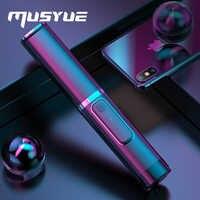Musyue Stativ Monopod Selfie Stick Mini Faltbare Drahtlose Bluetooth Selbst Stick Für iPhone Samsung Huawei Mit Fernbedienung