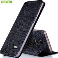 Bộ thủy sản New Cho Letv 2 LeEco Le2 X527 x520 Le 2 Pro X620 trường hợp Đối Với LeEco Le S3 X626 Lật luxury Da Đen Bìa kim loại fundas