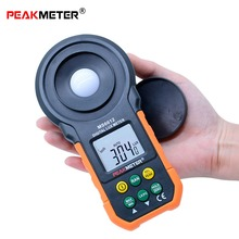 Handheld Digital Light Meter Lux Meter 0~200,000 High Precision Spectrometers Optical Instruments high quality tasi 632a digital light meter usb