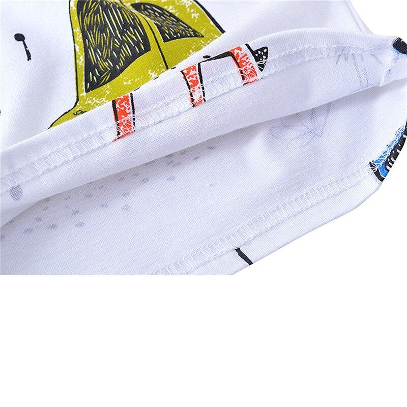 cervos dos desenhos casuais meninos curta animados roupas 05