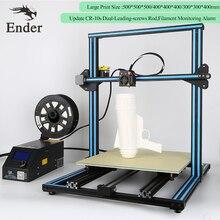 2017 CR-10s 4 s 5 s 3D Yazıcı DIY KIT Çift-Lider-vidalar Çubuk, büyük baskı boyutu Filament Izleme Alarm n Filament Creality 3D