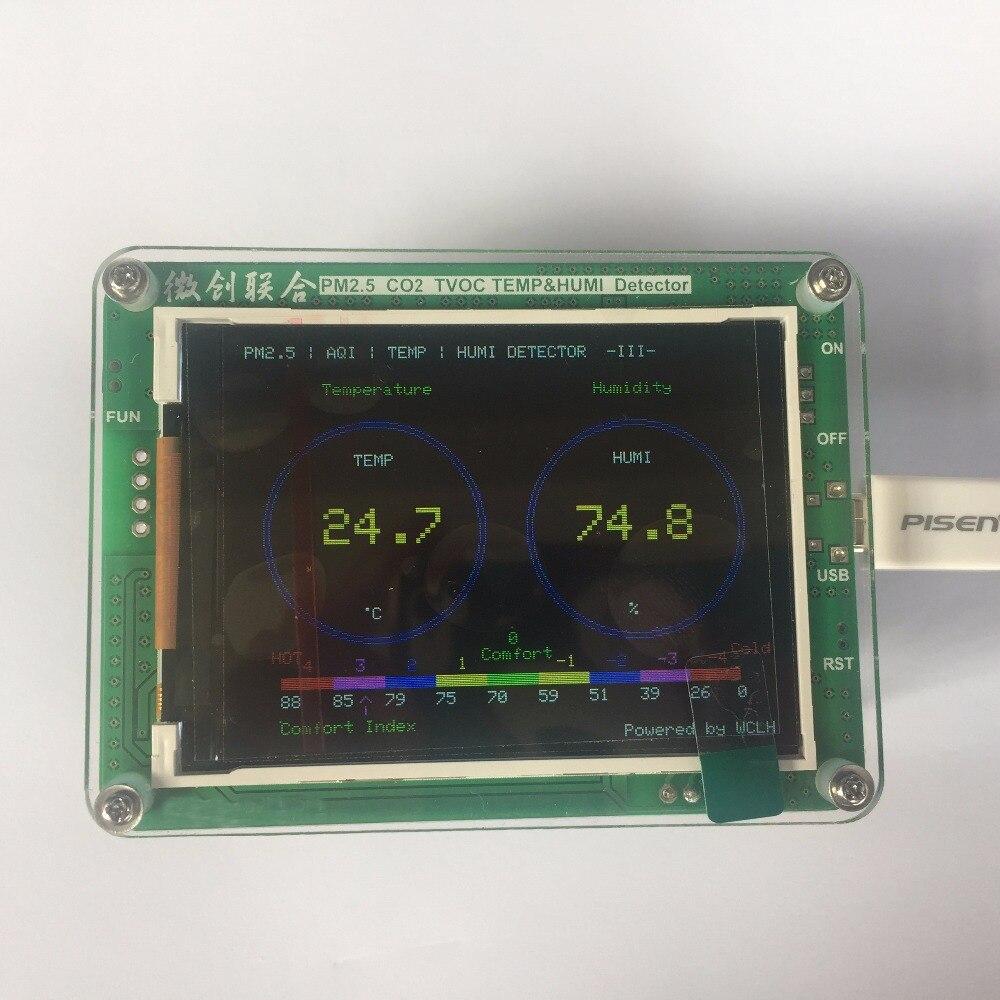 dell'aria TFT PM2.5 Laser 7