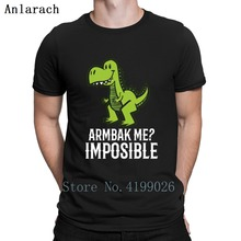 6cc70f3ae8df1 Hot Brazilian Jiu Jitsu Bjj Armbar Me Impossible T Rex Tshirts Summer Slim  Fit Kawaii Design