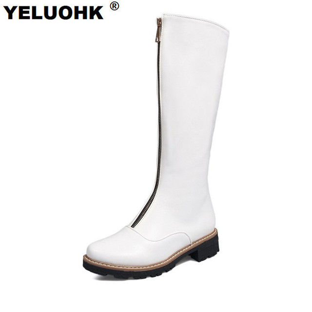 Grande Taille Bottes Blanches n4yKLOyO