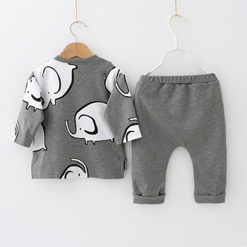 Newborn Baby Girls Clothes 2019 Autumn Winter Baby Boys Clothes Set 2pcs Outfits Kids Baby Costume Infant Clothing For Baby Suit 3
