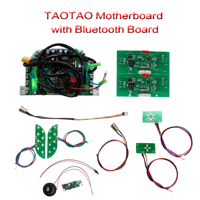 TAOTAO Brand 11 In1 Scooter Parts PCB Circuit Board/motherboard Including Bluetooth And Speaker