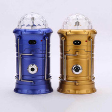Solar LED Lantern Light Rechargeable Outdoor Camping Flashlight Torch Stage Disco Lamp WWO66