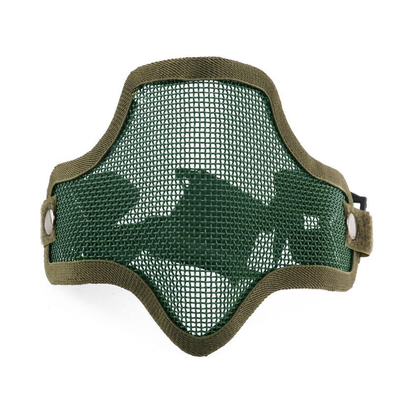 De Confianza Máscaras Deportivas De Ciclismo Filtros De Carbón Máscara De Polvo Smog Máscara Protectora De Neopreno Caza Máscara De Malla Metálica