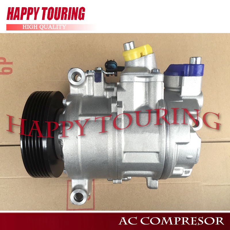 Auto Replacement Parts Generous 6sb16c Ac Compressor For Bmw 5 Series E60 520i 520li N46n 2006-2009 447190-9951 64526980044 2483002130 4471909950 4472602200 Clients First